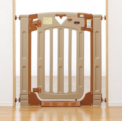 日本育児 スマートゲイトII プラス Smart Gate 2 plus  取り付け幅67~91cm(階段上69~93cm)×奥行3×高さ91cm 5014046001 階段上で使える両開き・片開き選択式のベビーゲート