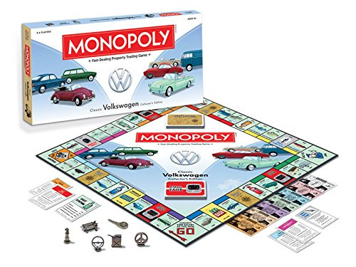 VW Volkswagen Monopoly Classic VW Collector's Edition Board Game NEW Factory Sealed Family Fun Gift Kids Adult Idea (Vintage Vw compare prices)