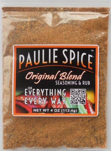 Paulie Spice : Famous Steak, Ribs, Prime Rib, Chicken, Pork, Fish And Seafood Seasoning And Rub : 4 Oz