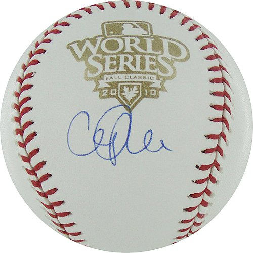 cliff lee world series. Cliff Lee Autographed 2010