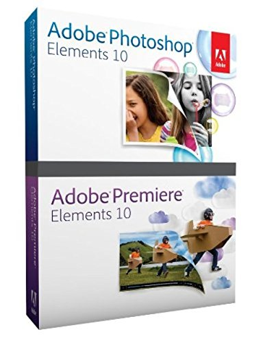 Adobe Photoshop Elements and Premiere Elements 10 [OLD VERSION] (Premier Video Editing Software compare prices)