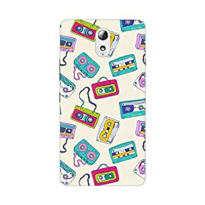 Garmor Designer Silicone Back Cover For Lenovo A6600 Plus