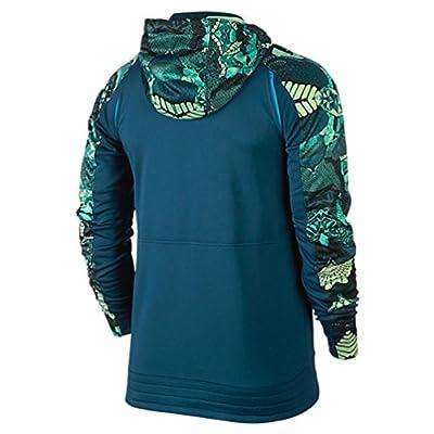 Nike Mens Therma Fit Kobe Emerge Hyper Elite Full Zip Hoodie Sweatshirt Small