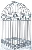 Oriental Trading - White Birdcage Wedding Gift Card Holder Wishing Well