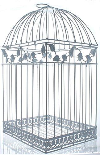 Fun Express White Birdcage Wedding Gift Card Holder 0