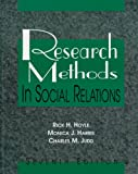 Research Methods in Social Relations (0155061399) by Rick H. Hoyle