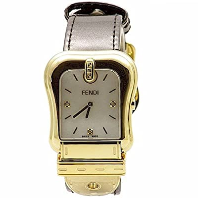 Fendi Women's F380414521D1 Analog Display Swiss Quartz Brown Watch