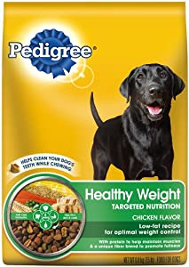 PEDIGREE Healthy Weight Dry Food for Dogs 15lb bag