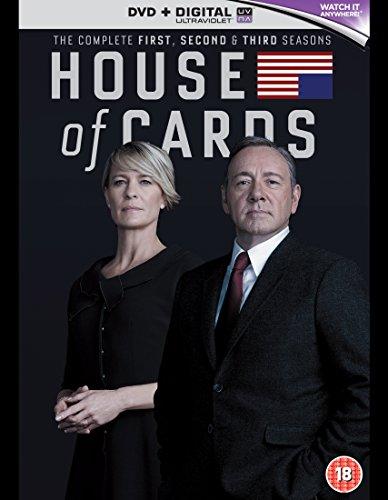 House of Cards - Season 01 / House of Cards - Season 02 / House of Cards - Season 03 - Set [Import anglais]