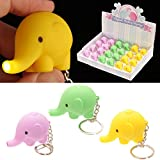 Cute LED Elephant Key Ring Gifts, and, Cards Wedding, Gift, Idea Occasion, Gift, Idea