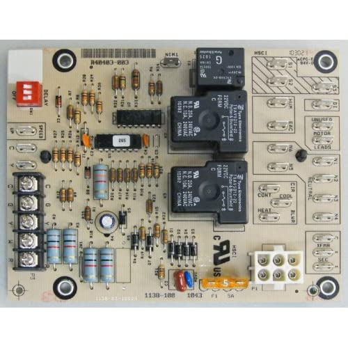 ^!armstrong furnace blower control circuit board (# r40403 ... armstrong hvac blower wiring york hvac blower relay wiring #14