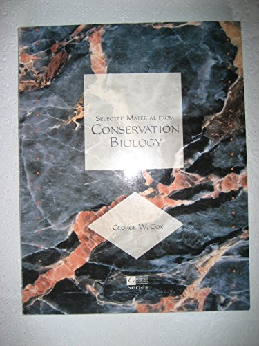 Selected Material from Conservation Biology (Selec