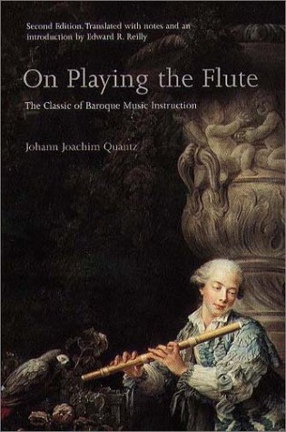 quantz essay Quantz flute frederick the great, king of prussia (1712-1786), one of history's most famous amateur musicians, maintained a superior eighteenth-century european court.