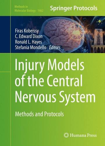 Injury Models of the Central Nervous System: Methods and Protocols (Methods in Molecular Biology)