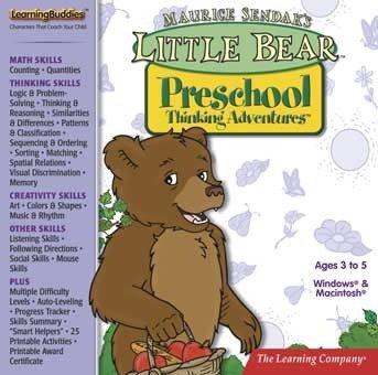 Little Bear Preschool Thinking Adventures front-111191