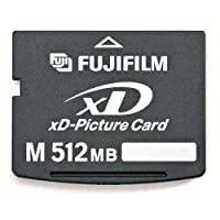 Fujifilm 512 MB XD Type M Picture Card ( 600002308 ) from FUJIFILM
