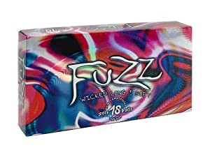 Fuzz Ball 18 Pack Low Compression Golf Balls (White)