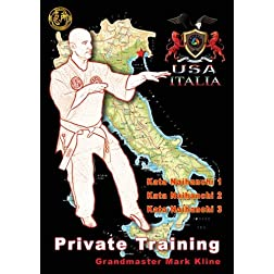 Mark Kline - Private Pressure Point Class - Kata Naihanchi 123