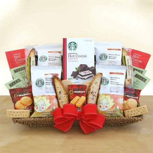 Starbucks Winter Galaxy Gift Basket From California Delicious