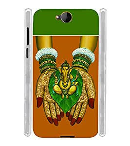Kalash Ganesh Soft Silicon Rubberized Back Case Cover for Microsoft Lumia 650