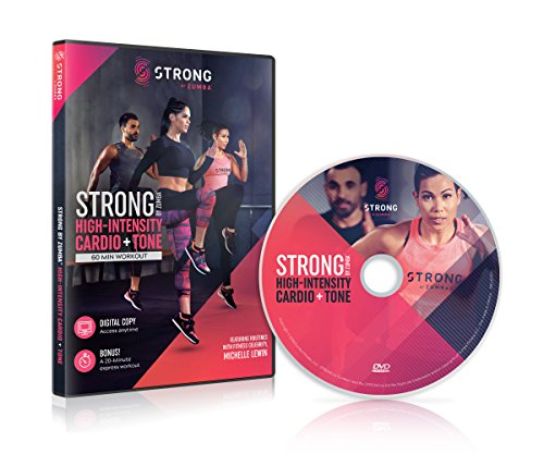 DVD : Strong: High-intensity Cardio & Tone Workout