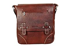SCHARF Genuine leather Crossbody Messenger Bag