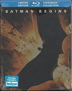 Batman Begins (Limited Edition SteelBook) [Blu-ray] (Bilingual)