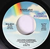 Golden Earring 45 RPM Radar Love / Just Like Vince Taylor