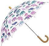 Hatley Little Girls  Umbrella - Patterned Elephants