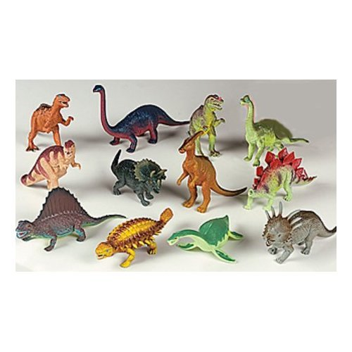 12 piece Large Assorted Dinosaurs - Toys 5-7