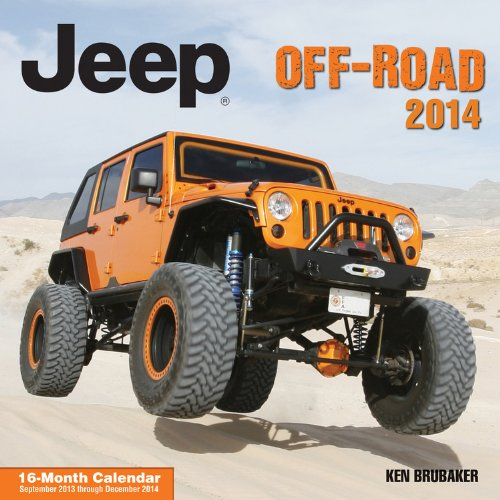 Jeepr Off-Road 2014: 16 Month Calendar - September 2013 through December 2014