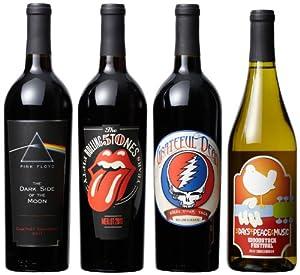 Wines that Rock Rainbow Mixed Pack II, 4 x 750 mL