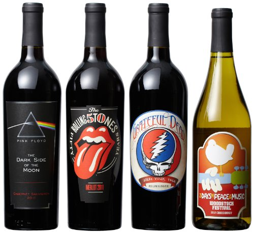 Wines That Rock Rainbow Mixed Pack Ii, 4 X 750 Ml
