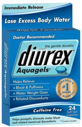 Отзывы Diurex Aquagels Soft Gel Caps, 24 ct