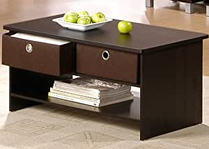 Center Coffee Table With Bin Drawers Tables