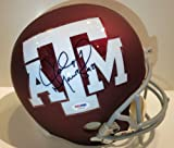 Johnny &quot;Football&quot; Manziel Signed Texas A&amp;M Helmet Amazon.com