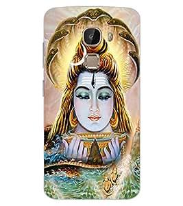 ColourCraft Lord Shiva Design Back Case Cover for LeEco Le 2 Pro