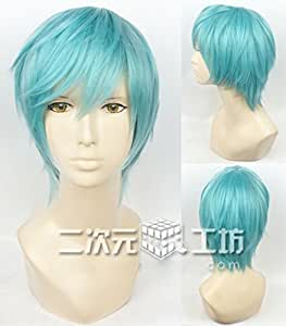 耐熱コスプレウィッグ 一期一振 刀剣乱舞ONLINE(とうらぶ)かつら cos wig  sunshine onlineが販売+おまけ
