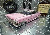 1959年式 ピンクキャデラック エルドラドビアリッツ 【Jada社製 1/24 ミニカー】 ★アメ車/ポップ/ギフト/フィフティーズ