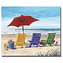 Beachy Keen by Scott Westmoreland Premium Gallery-Wrapped Canvas Giclee Art (Ready-to-Hang)