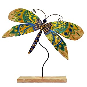Eangee Standing Dragonfly Quilted Home Decor