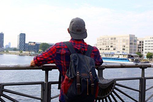 цена American Eagle Outfitters Canvas Buckled Backpack онлайн в 2017 году