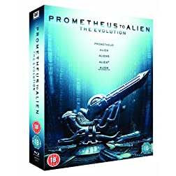 Prometheus to Alien: Evolution [Blu-ray]