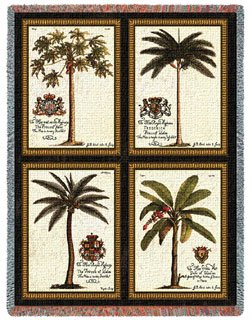 Palm Tree Bedding 5187 front
