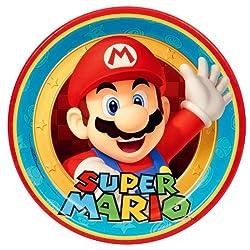 Super Mario Party Supplies - Dinner Plates (8)