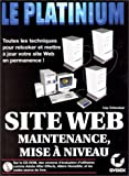 img - for Maintenance et mise   niveau d'un site Web (French Edition) book / textbook / text book