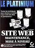 img - for Maintenance et mise   niveau d'un site Web book / textbook / text book