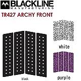 2016 BLACKLINE ブラックライン サーフィン用デッキパッド ARCHY FRONT TR427 4ピース デッキパッチ