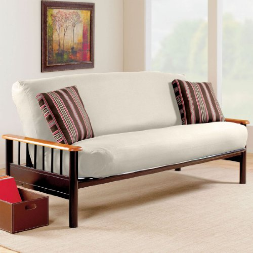 BrylaneHome Cotton Duck Futon Cover, fits full size, 54