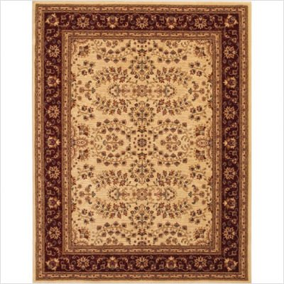 "Traditional Anatolia Antique Herati Cream / Red Oriental Rug Size: Rectangle: 2'3"" x 3'3"""